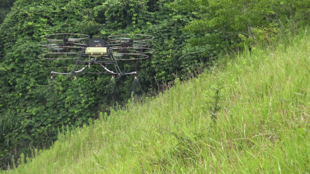 automated sprayer drones