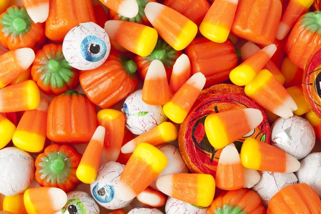disrupting halloween candy