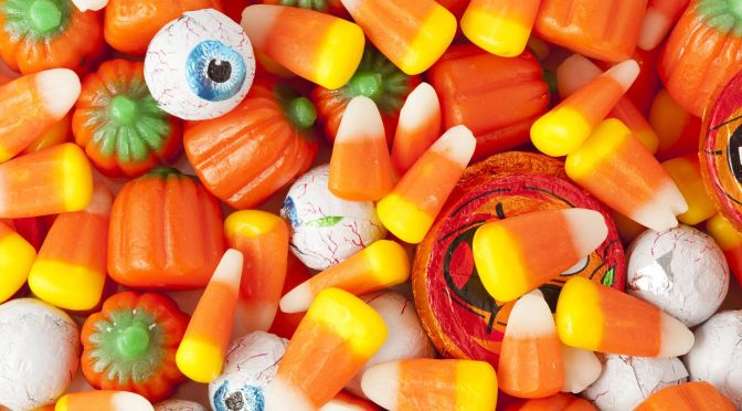 disrupting halloween candy