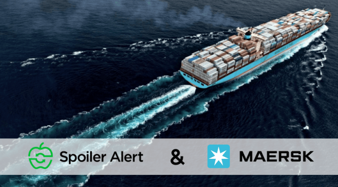 Maersk Makes 7th Startup Investment in Food Waste, Supply Chain Software Spoiler Alert