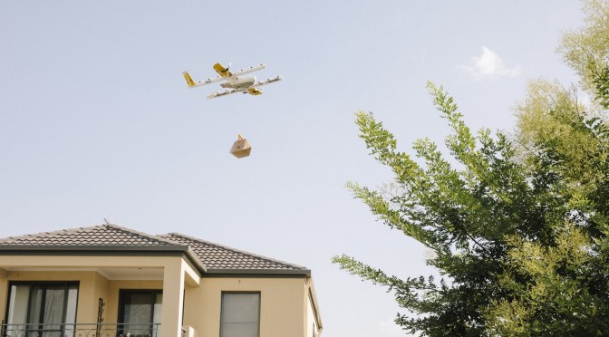 It's a Bird! It's a Plane! No, It's Google's Wing Aviation Drone Carrying your Dinner
