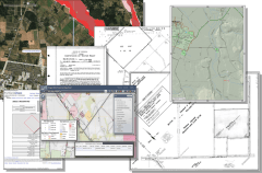 Electronic Informational Land Packages