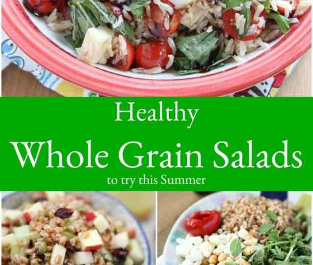 These Healthy Whole Grain Salad Recipes Are Sure To Be Light Yet Filling And Absolutely