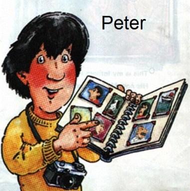 Δωρεάν αγγλικές ιστοριούλες, 'Peter and his book'