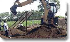 AggreBind soil stabilization sifting the fines
