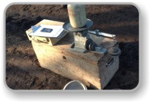 Stabilizing soil OMC test