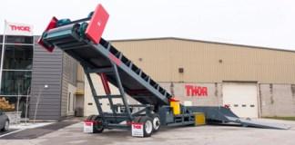 Thor Truck Unloader Makes Lightening the Load Lightning Quick