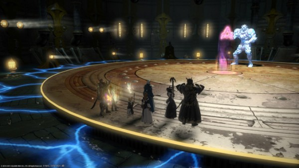 The 3rd boss in FFXIV's new Alexander raid