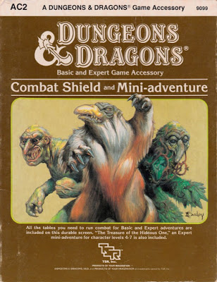 Mystara Monday: AC2 - Combat Shield and Mini-adventure