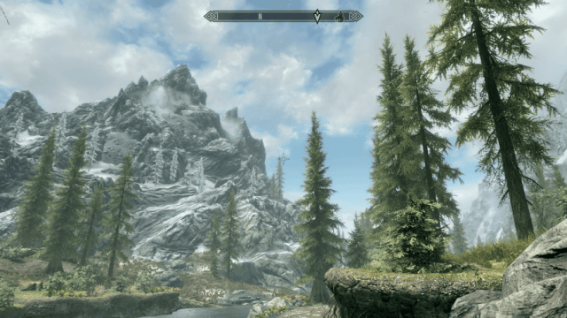 Wandering Skyrim