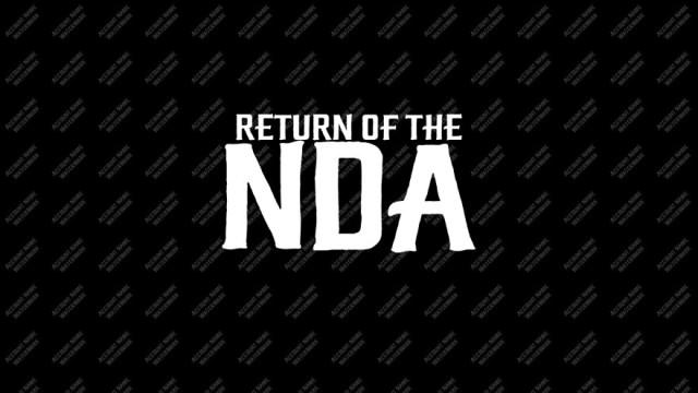 Return of the NDA