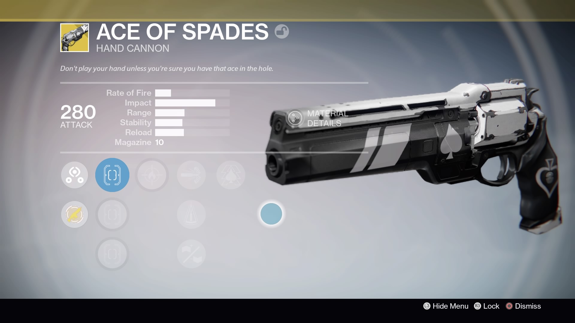 Ace of Spades Acquired