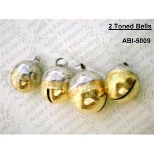 2-Tonned (Silver+Golden) Bells (ABI-5009)
