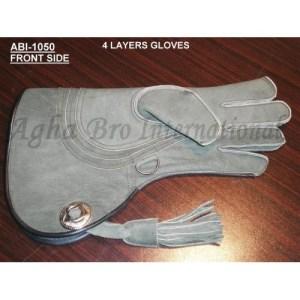 Nubuck Falconry Glove (ABI-1050)