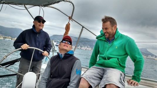 Soledad main sail trial