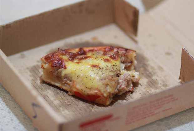 cant recycle takeaway pizza boxes