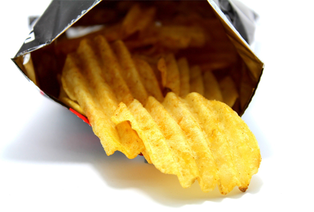 crisp packets cant be recycled