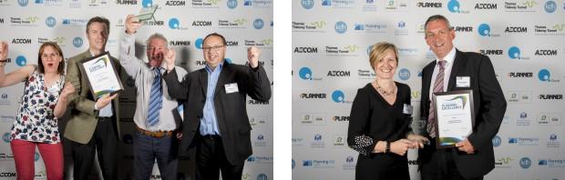 Swift software users win awards at RTPI Awards