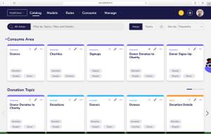 Agile Data Catalog - Charity