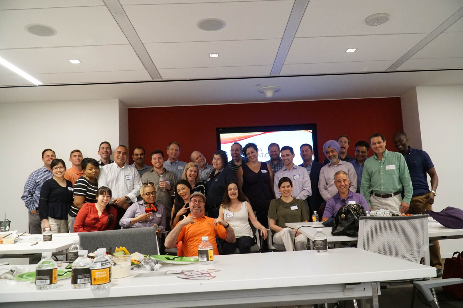 Steve Moubray hosting Agile Coaching DC Meetup Event