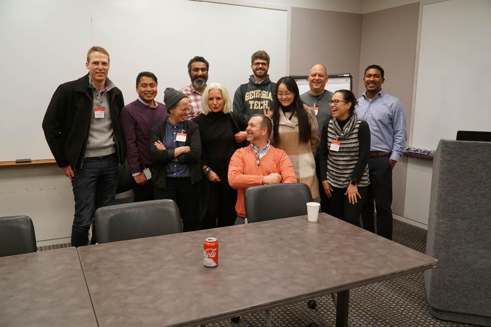 Steve Moubray hosting the Agile UX Team