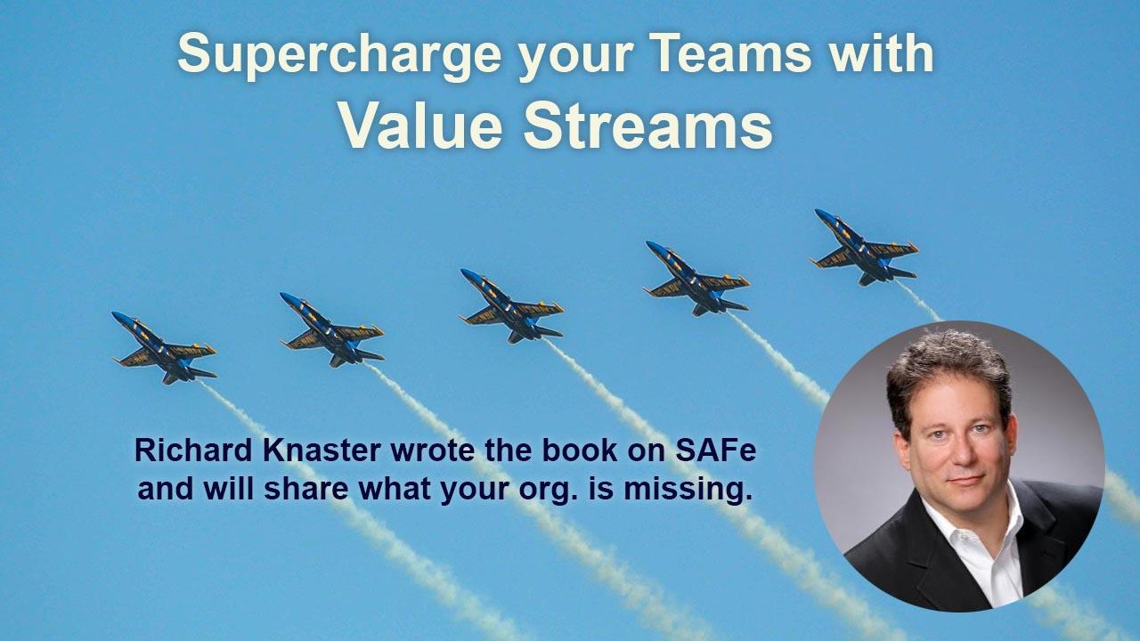 Richard Knaster Value Streams