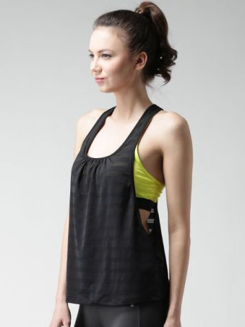 11466679321718-FOREVER-21-Black--Yellow-Self-Striped-Athletic-Top-4441466679321509-2