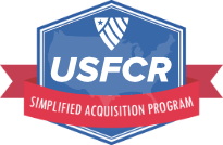 USFCR Simplified Acquisition Program Logo