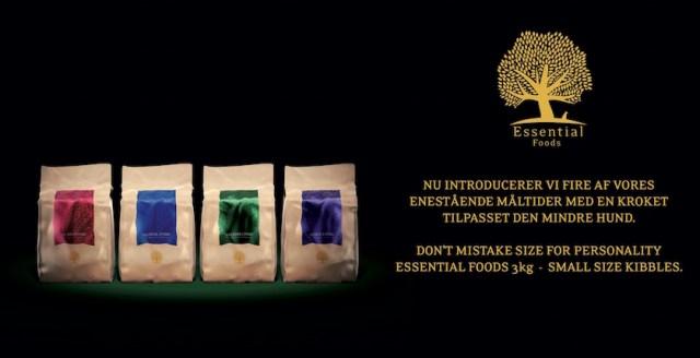 Bemærk at Essential Foods nu også fås i sække à 3 kg.