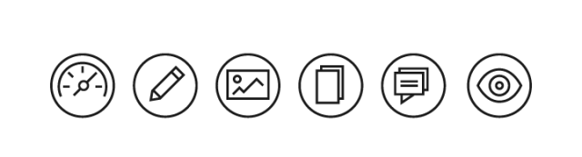 Same size of all icons