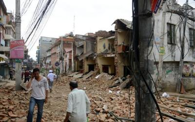 CBM's Support for Nepal Emergency Relief