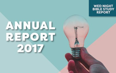 2017 Annual Report: Wednesday Night Bible Study Report