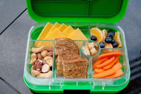 Yumbox with food