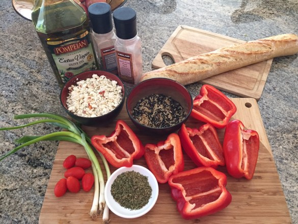 Stuffed pepper ingredients 1