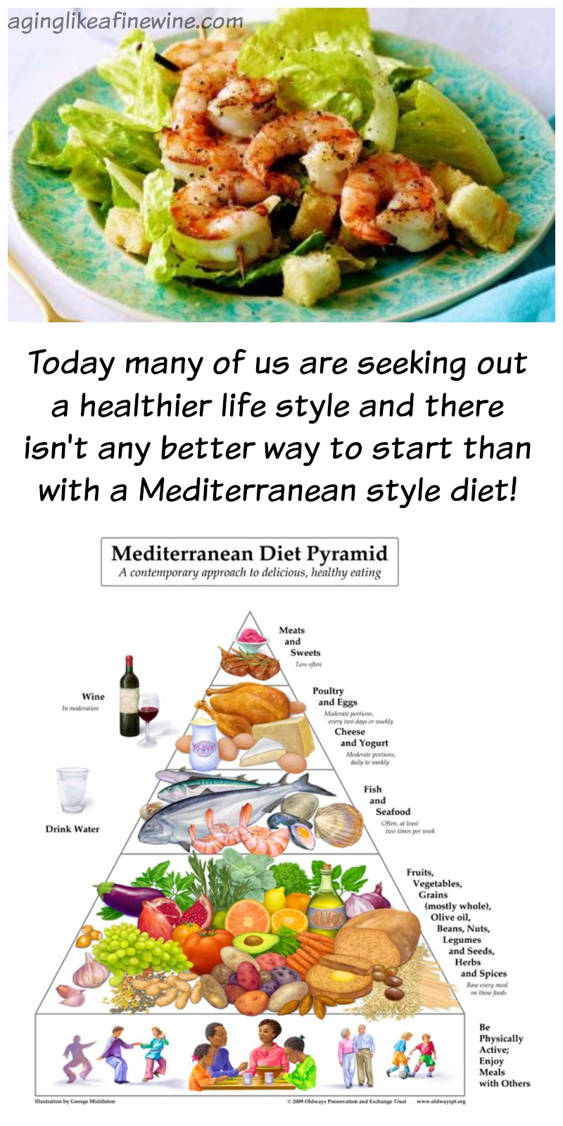 Mediterranean Diet Basics Plus A Recipe To Get You Started