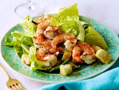 Basil Shrimp Summer Salad