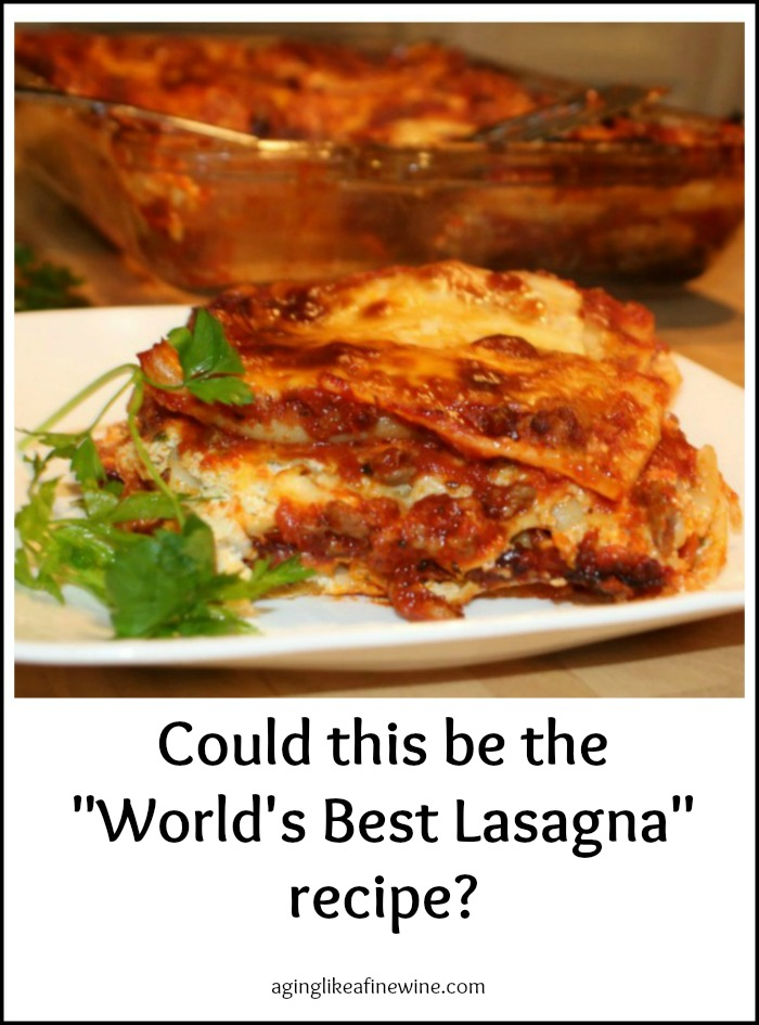 We Re Having Fun In The Kitchen Testing A 5 Star Lasagna