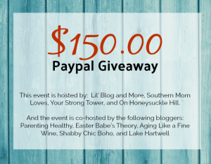 $150.00 Giveaway