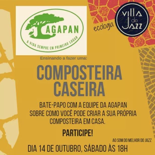 AGAPAN ensina compostagem caseira em evento no BarrashoppingSul neste sábado