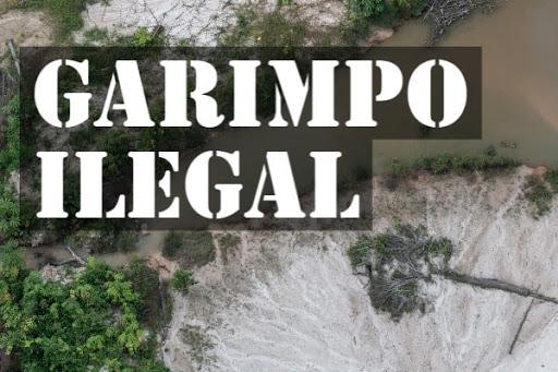 MPF apresenta em Brasília, sede do TRF1, pedido para que sejam retomadas operações contra garimpos ilegais