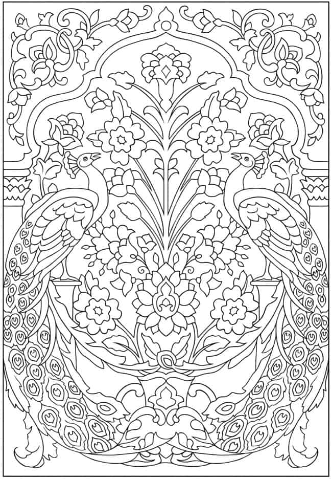 Easy Feather Mandala Coloring Pages - Novocom.top