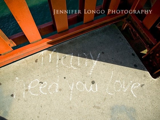 """""""Many need your love"""""""