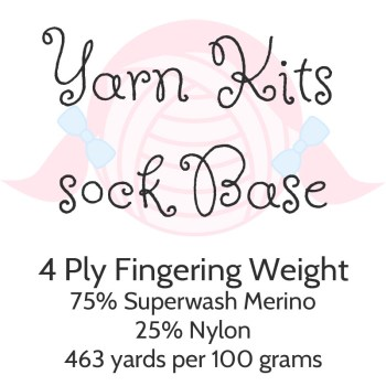Yarn Kits - Sock Base