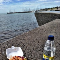 A recovery lunch in Geelong