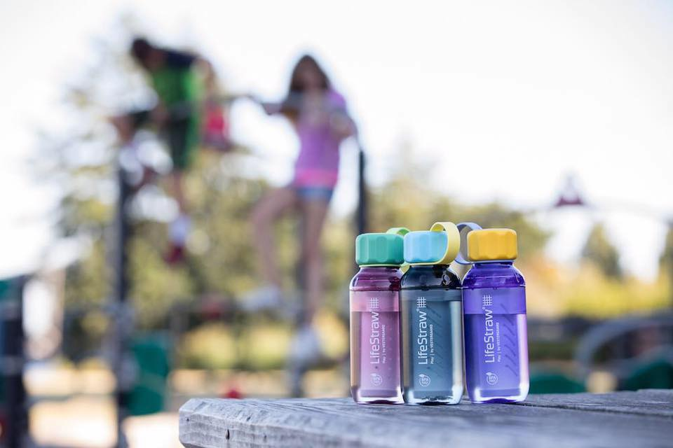 Filtered Water Bottle Kids Eco-friendly