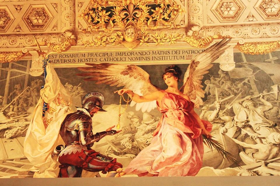vatican city panting