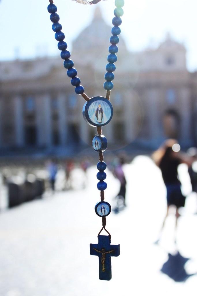 vatican city strange things rosary