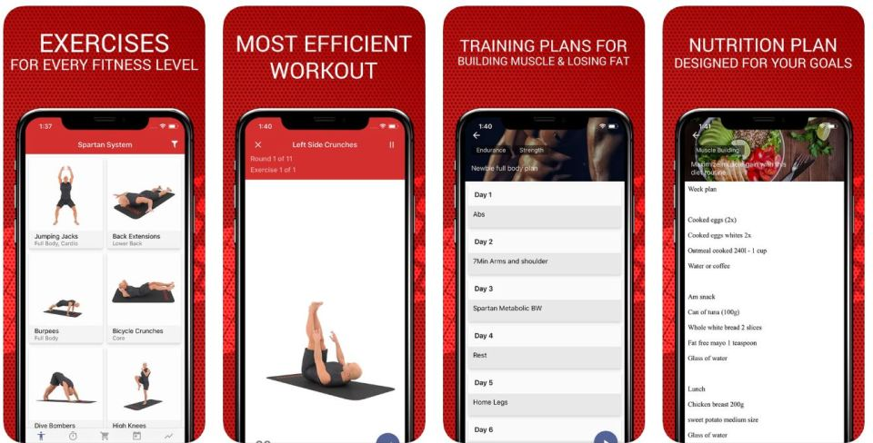 spartan app workout tips for dummies