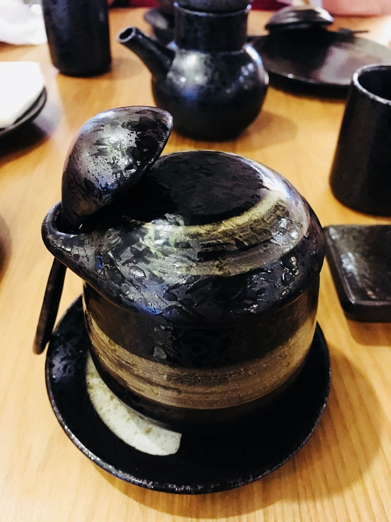 Such a unique chawanmushi bowl at Ryoshi Izakaya Signature