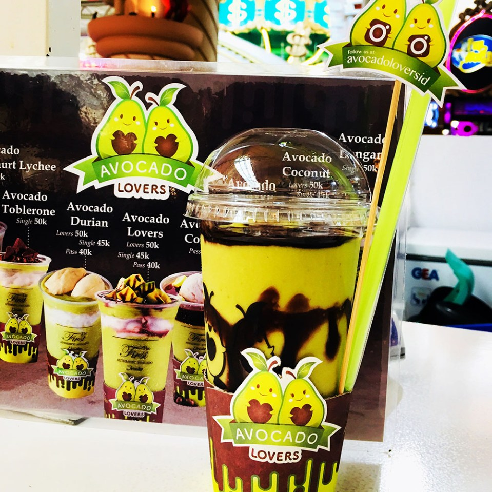 fresh avocado juice jakarta not expensive